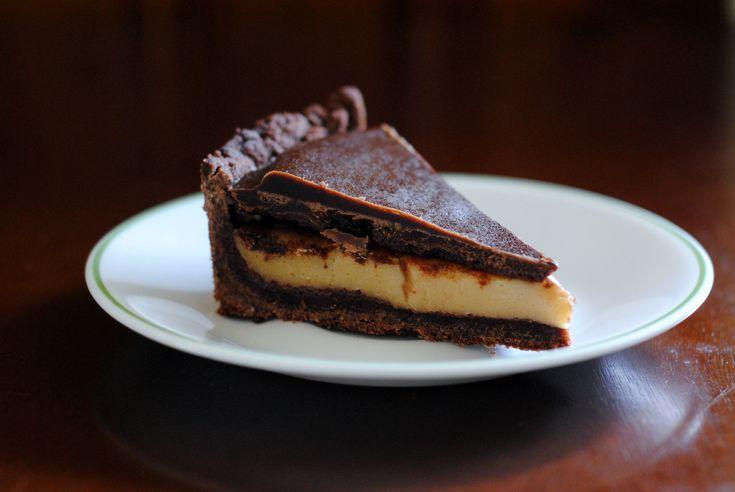 Chocolate Peanut Butter Torte | Pies & Tarts | Pinterest