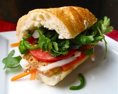 Banh Mi with Lemongrass Tofu | delish! | Pinterest