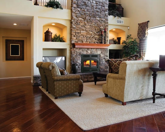 built in cabinets around fireplace trolley house pinterest
