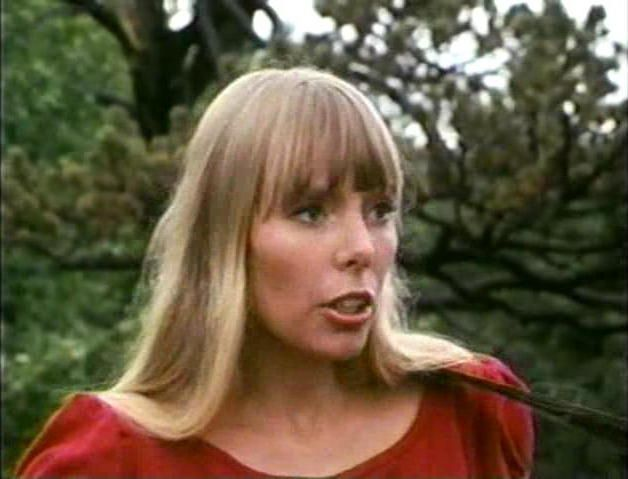 Joni on the canadian tv show mon pays mes chansons in 1966