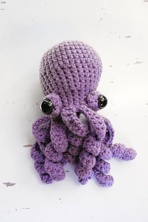 Octopus Amigurumi amigurumi Pinterest