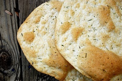 Crisp Rosemary Flatbread | Breads | Pinterest