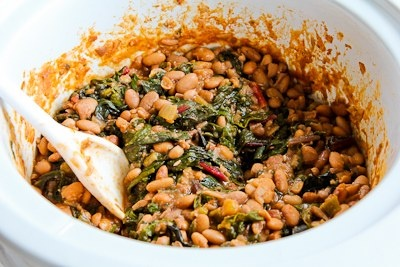 Slow Cooker Recipe For Spicy Vegetarian Pinto Bean And ...