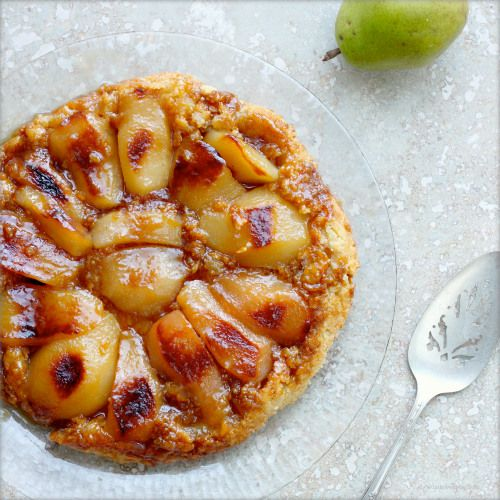 Pear Cardamom Clafoutis Recipe — Dishmaps