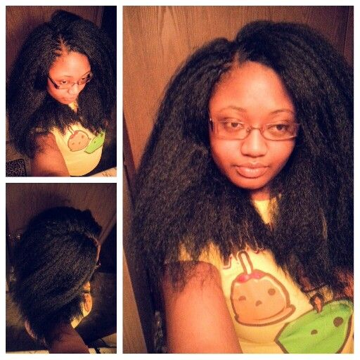 Crochet Hairstyles With Kanekalon : Crochet+Braids+With+Kanekalon+Hair Crochet braid #kanekalon # ...