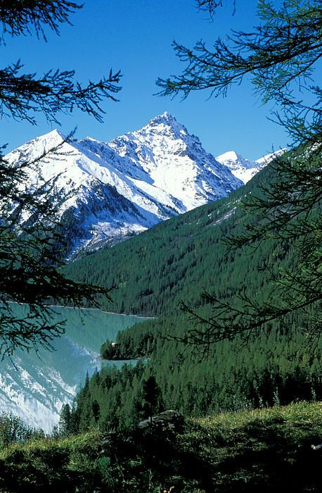 Altai Mountains Print by Anonymous