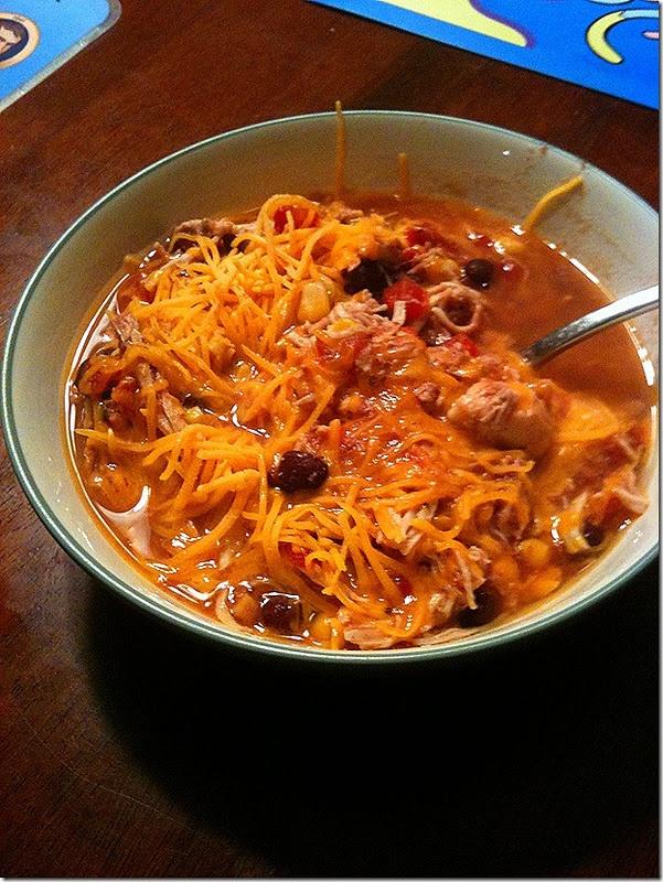 Crock Pot Santa Fe Chicken | Food Fantasy / Soups & Chilli | Pinterest