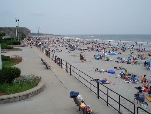Beach Campground In Rhode Island