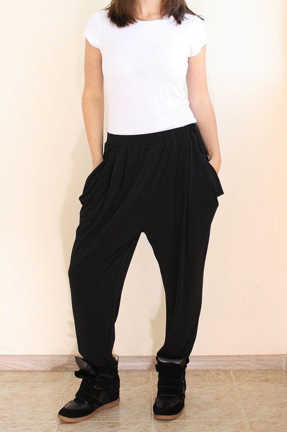 Elegant  FabricSportsClothesWomen039sYogaLooseBloomersPantsTrousers