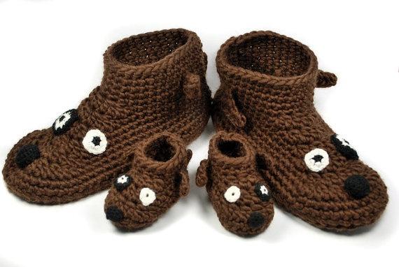 Free Crochet Patterns Dog Boots : Crochet dog slippers / boots Grandma Pinterest