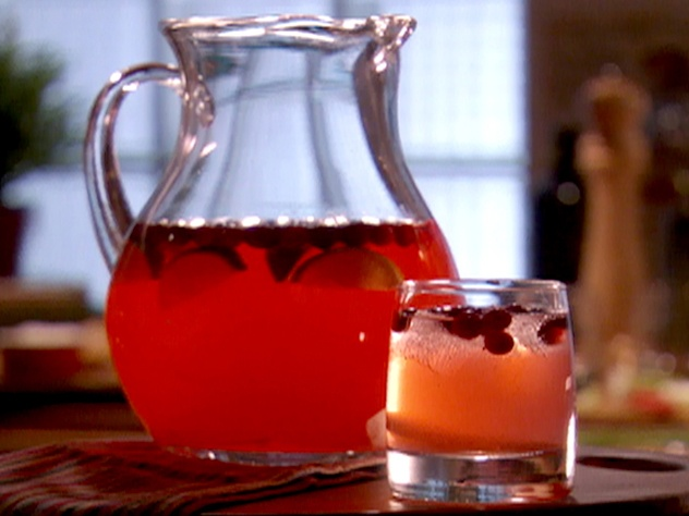Ginger Cranberry Cocktail (Frozen Vodka or Gin) from FoodNetwork.com