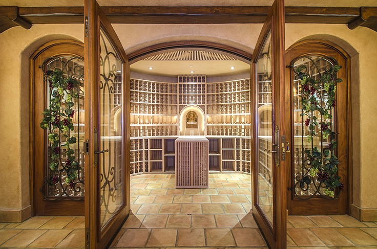 basement wine cellar beautiful interiors pinterest