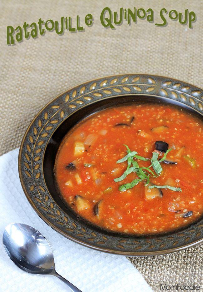 Ratatouille Quinoa Soup