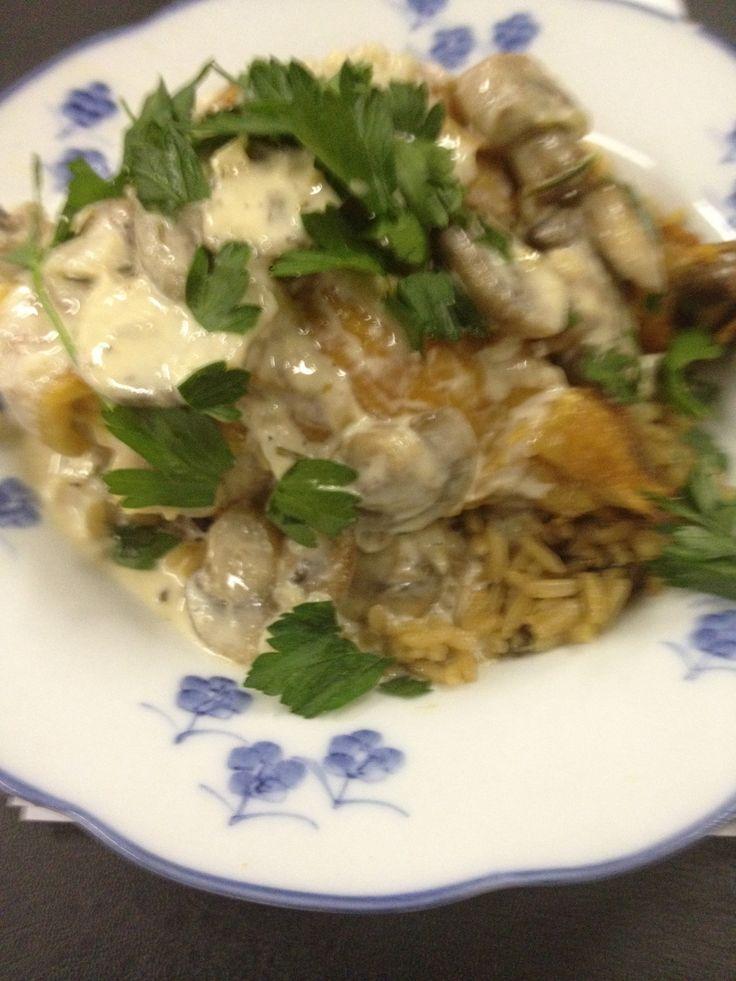 Chicken In Chipotle-Wild Mushroom Sauce Recipe — Dishmaps