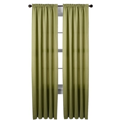 Green curtains for the home pinterest
