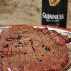 Grilled Flank Steak with Guinness Beer Marinade -- Stout beer ...
