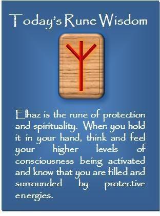 Rune Wisdom : Elhaz