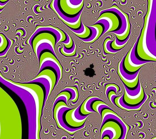 Trippy Optical Illusion Moving