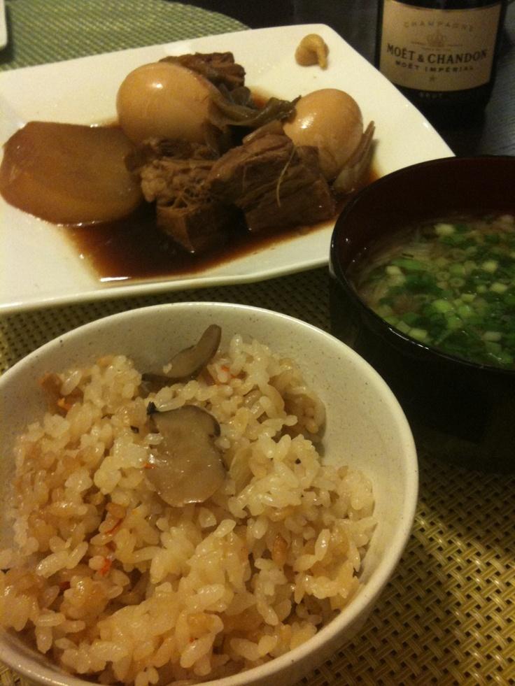 takikomi-gohan | My Cooking | Pinterest