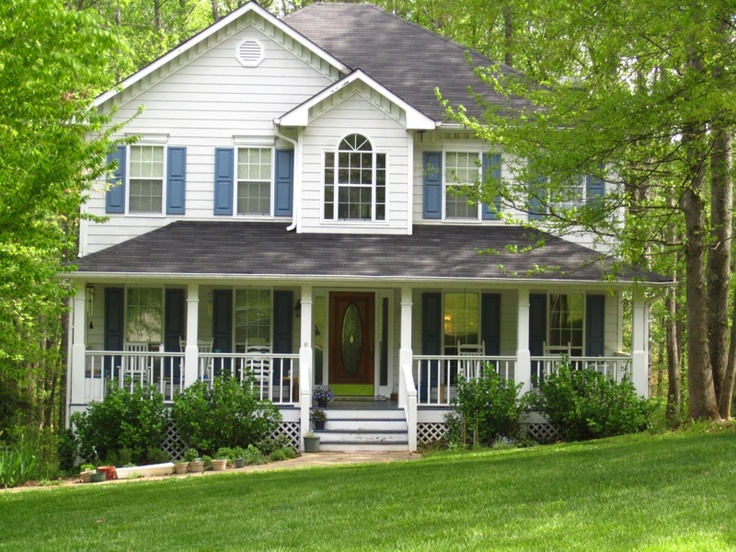 Southern Country Style Home Future Home Ideas Pinterest
