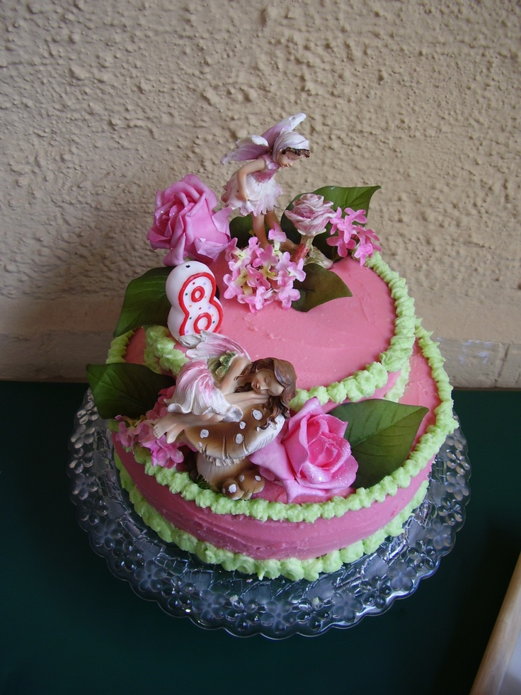 Fairy Garden Cake Ideas Photograph Fairy garden cake Chi