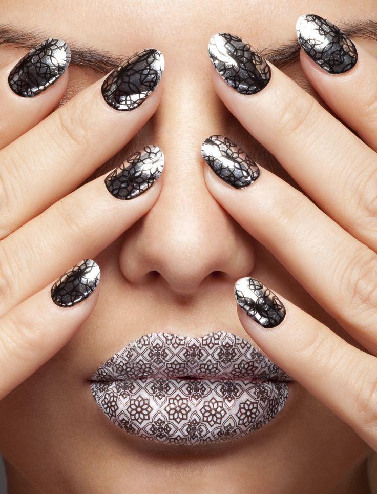 "=> SOURCE: from http://pinterest.com/bendrixdotme/head-and-nails-art/ ""Head and Nails ART!"" Board (@Bendrix) via."