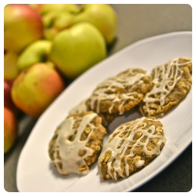 Iced Oatmeal-Applesauce Cookies | Food and Kitchen. | Pinterest