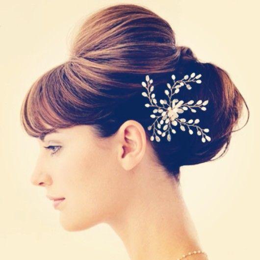 Ou cérémonie sur cheveux longs hairstyle idea chignon for wedding Hairstyle