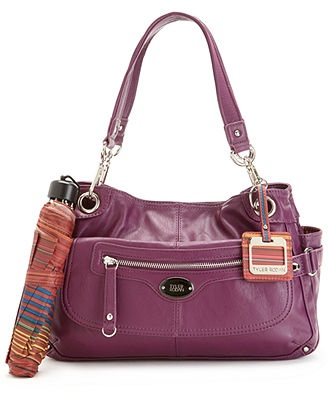 Tyler Rodan Handbag, Simple Satchel - Satchels - Handbags ...