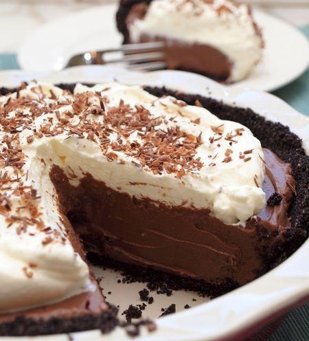 Chocolate Cream Pie | Desserts | Pinterest