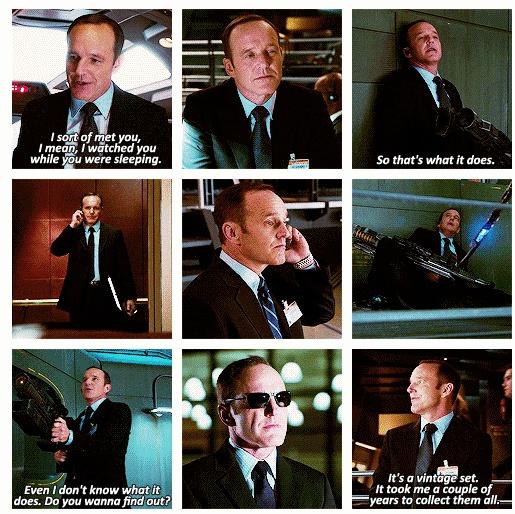 The Avengers...Agent Phil Coulson