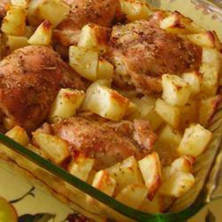 Lebanese Chicken And Potatoes Recipes — Dishmaps
