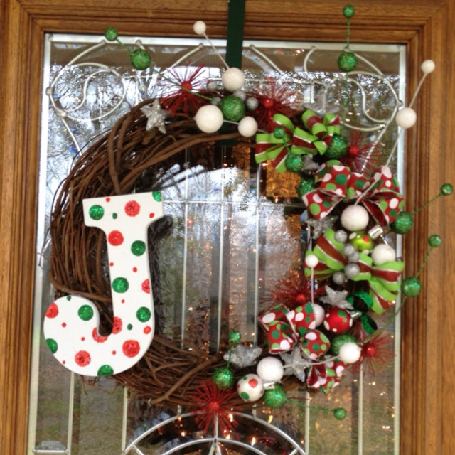 Homemade Wreath Christmas Ideas Pinterest