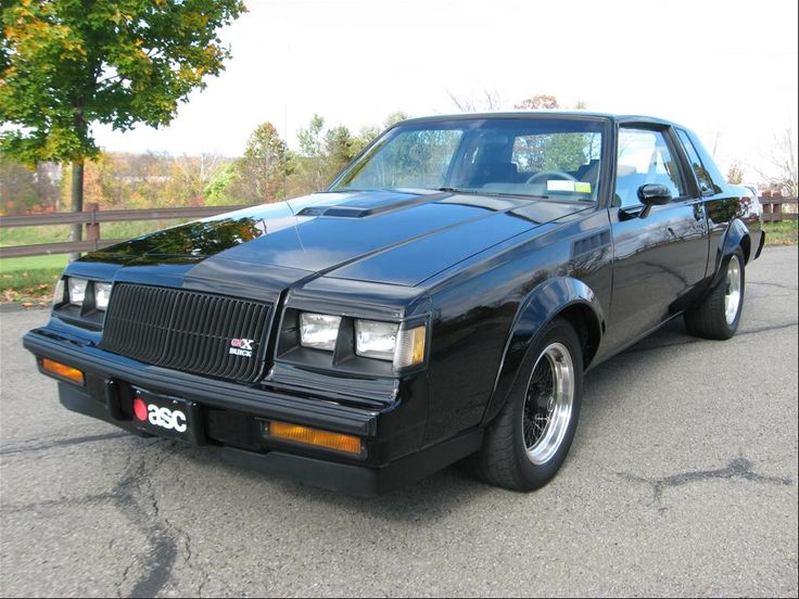 1987 buick grand national gnx cool cars pinterest. Black Bedroom Furniture Sets. Home Design Ideas