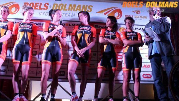 Boels dolmans women s cycling team presentatie boels dolmans cycling