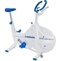 The Monark 827E Electronic Fitness Cycle is the leading model for those needing close monitoring of cardiac conditions. Designed for intensive use in rehab centers and professional gyms, the Monark 827E Exercise Cycle features a robust electronic fitness monitor that uses telemetry to track heart rate. It is designed for heavy commercial use and employs electronic instrumentation to track pedal-turns per minute, heart rate, cycling time, intended cycling speed, and distance.