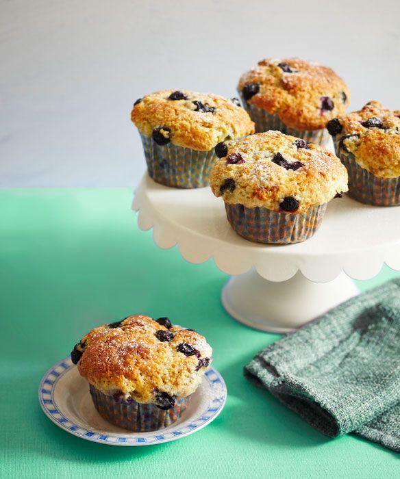 Blueberry buttermilk muffins | Baking | Pinterest