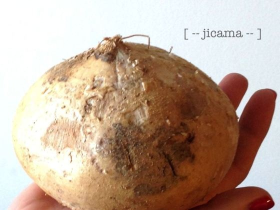 jicama -- for the mango, cucumber, jicama salad