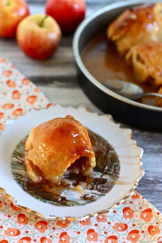 Old Fashioned Apple Dumplings. | Gastromomia | Pinterest