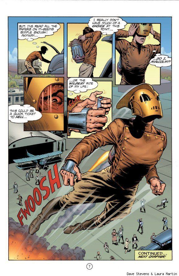 Dave Stevens & The Rocketeer | DreamScapes - Art and ...