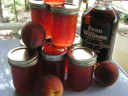 Bourbon Peach Jam | Recipe