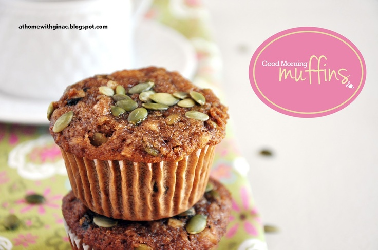 At Home with Gina C.: Good Morning Muffins made with almond flour