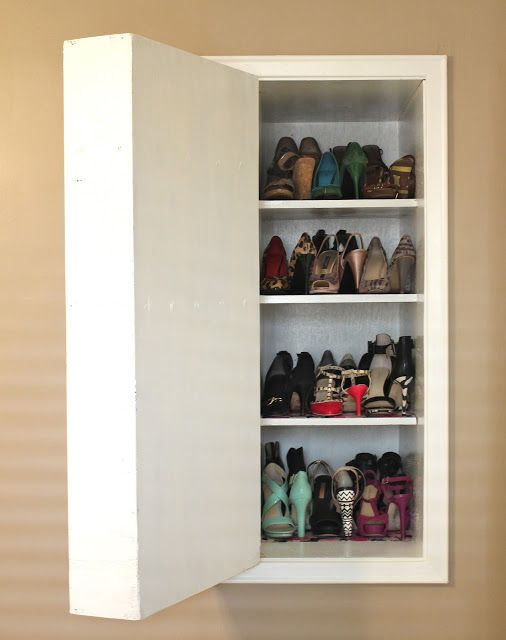 Hidden shoe storage dilettante  doyenne  For the Home  Pinterest