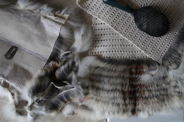 Меховая жилетка вязать