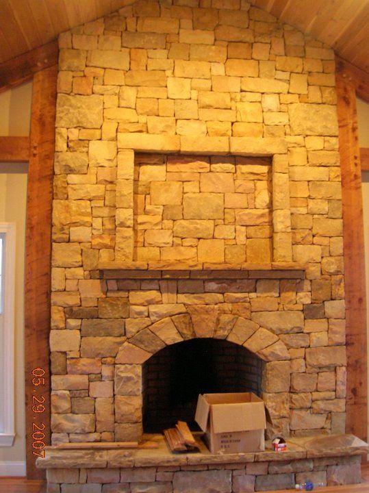 Parents Master Bedroom Stone Fireplace Cornerstone Masonry Eagle R