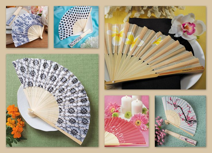 Hand Fan Wedding Favors