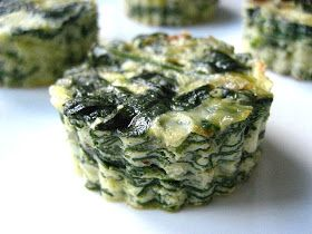 Stacey Snacks: Mini Ricotta & Spinach Souffles