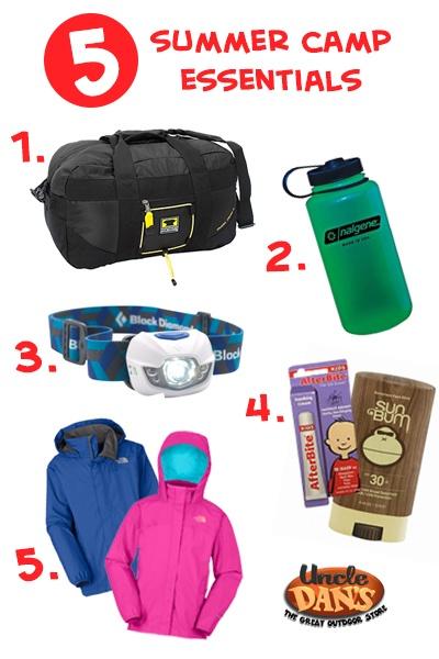 Summer Camp Essentials