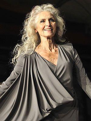 Daphne Selfe, British supermodel, 83