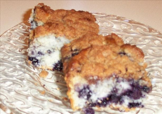 Blueberry Tea Cake.....memories from my Grammie Hatton